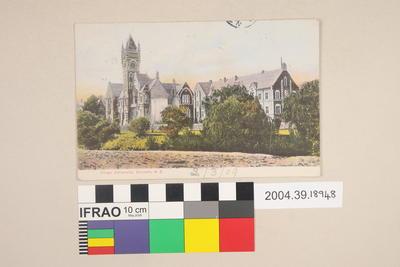Postcard: Otago University, Dunedin, New Zealand