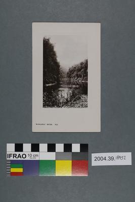 Postcard: Wanganui River, New Zealand