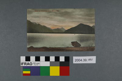 Postcard: Head of Wakatipu from Glenorchy