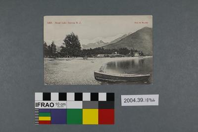 Postcard: Head Lake Hawea, New Zealand