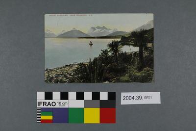 Postcard: Mount Earnslaw, Lake Wakatipu