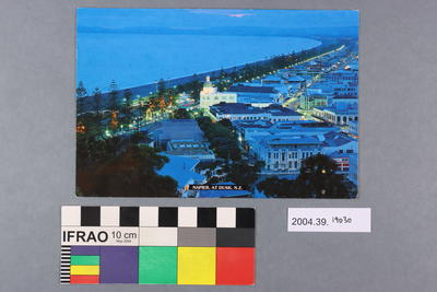 Postcard: Napier At Dusk, NZ