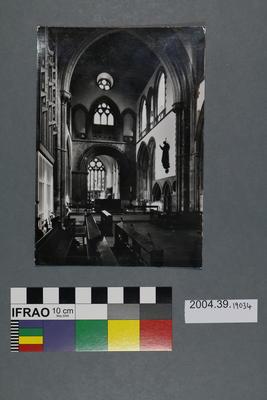 Postcard of Llandaff Cathedral Interior