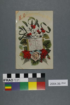 Postcard: May Christmas-Tide bring Joy to Thee