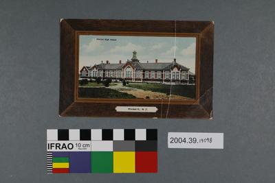 Postcard: District High School, Waimate, New Zealand