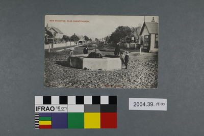 Postcard: New Brighton, Near Christchurch