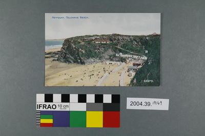 Postcard: Newquay, Tolcarne Beach