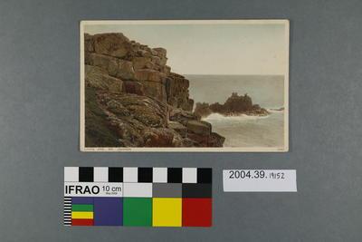 Postcard: Lands End, Dr Johnson