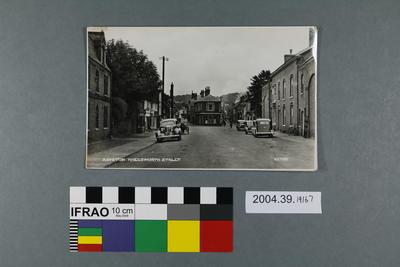 Postcard: Rayston Kneesworth Street