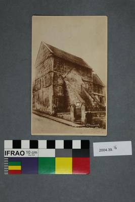 Postcard: Saxon Church