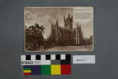 Postcard: Bath Abbey