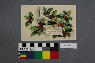 Postcard: Christmas Wishes