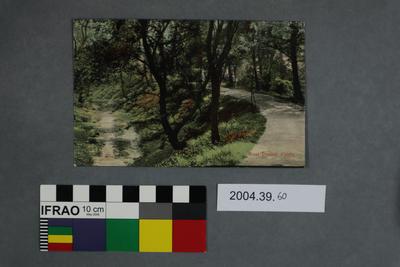 Postcard: Moat Dudley Castle
