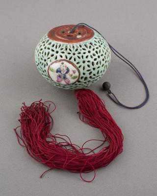 Ceramic: cicada cage