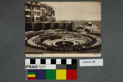 Postcard: Rocket House Gardens, Cromer