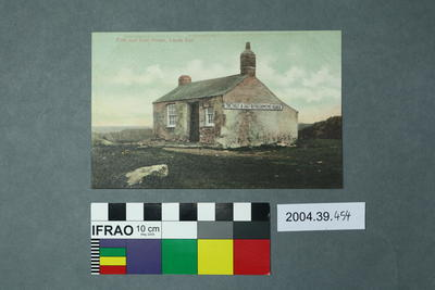 Postcard: First and Last House, Lands End