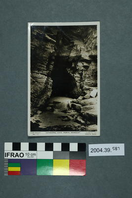 Postcard: Cathedral Cave, Porth, Newquay