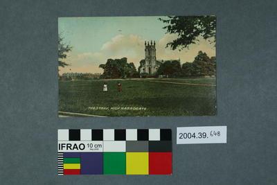 Postcard: The Stray, High Harrogate