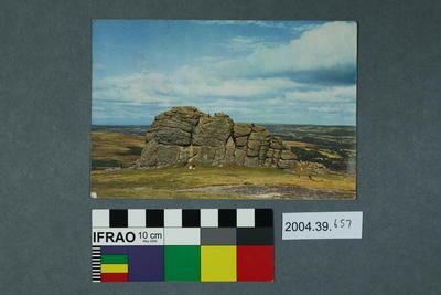 Postcard: Hay Tor, Ilsington, Devon