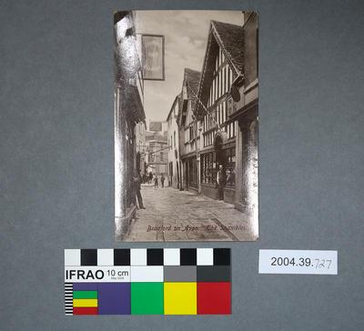 Postcard: Bradford on Avon, The Shambles