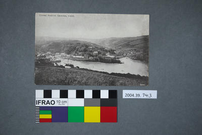Postcard: Combe Martin, General View