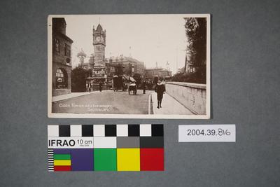 Postcard: Clock Tower and Infirmary Salisbury