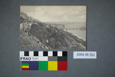 Postcard: View From The Leas, Folkestone