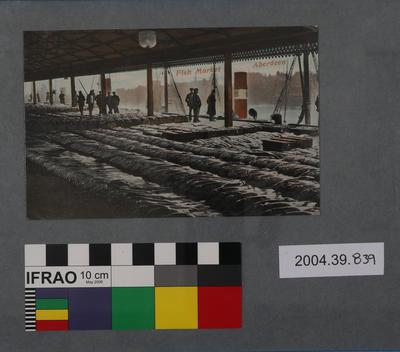 Postcard: Fish Market, Aberdeen