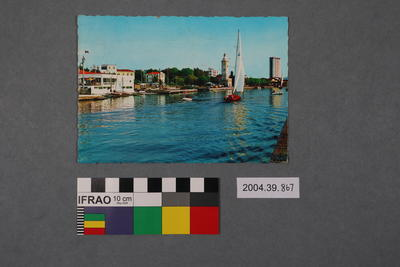 Postcard: Porto Canale, The Small Boat Hourbour, Bootshafen