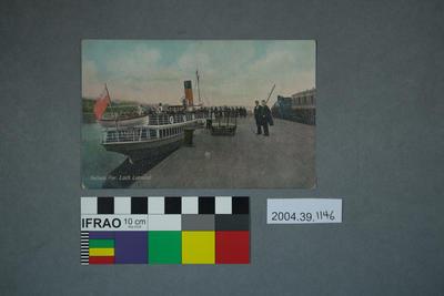 Postcard: Balloch Pier, Loch Lomond