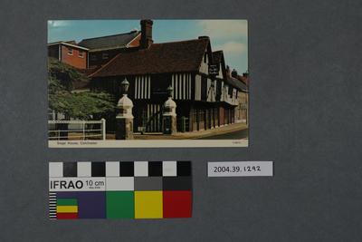 Postcard: Siege House, Colchester