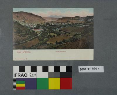 Postcard: Las Palmas, Monte Barranco