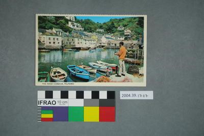 Postcard: The Inner Harbour, Polperro