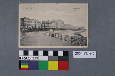 Postcard: The Front, Eastbourne