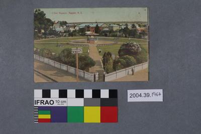 Postcard: Clive Square, Napier, N.Z.