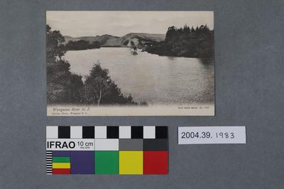 Postcard: Wanganui River N.Z.