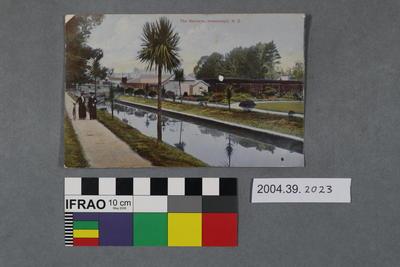 Postcard: The Gardens, Invercargill, N.Z.
