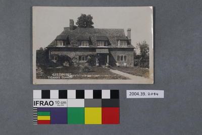 Postcard: Greenhurt, Tismans Common