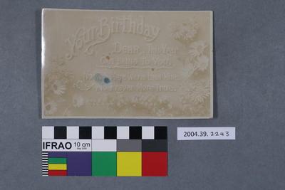Postcard: Your Birthday