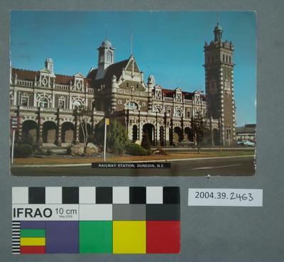 Postcard: Railway Station