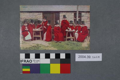 Postcard of a group of women