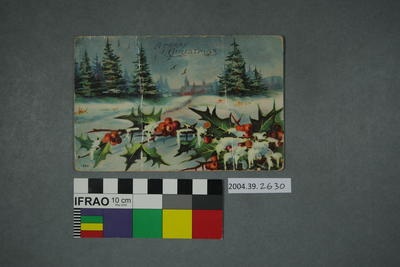 Postcard: A Merry Christmas