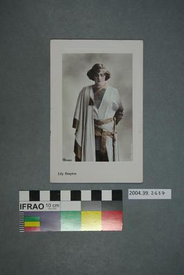 Postcard: Lily Brayton