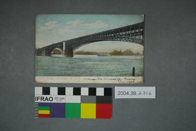 Postcard: Eads Bridge