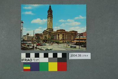 Postcard of City Hall