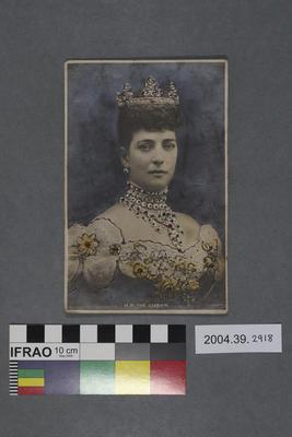 Postcard: H.M. The Queen