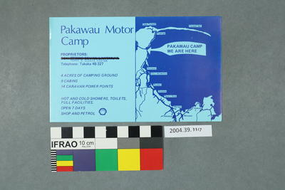 Postcard: Pakawau Motor Camp