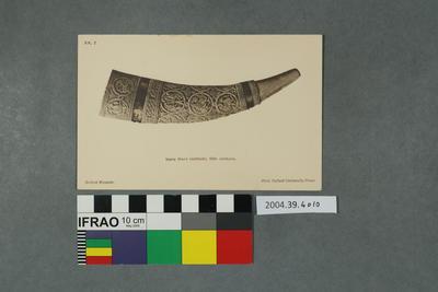 Postcard: Ivory Horn