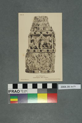 Postcard: Ivory Reliquary