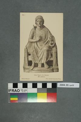 Postcard: Ivory Figure